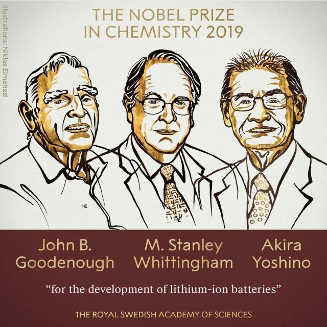 2019诺贝尔化学奖获得者年龄纪录刷新63